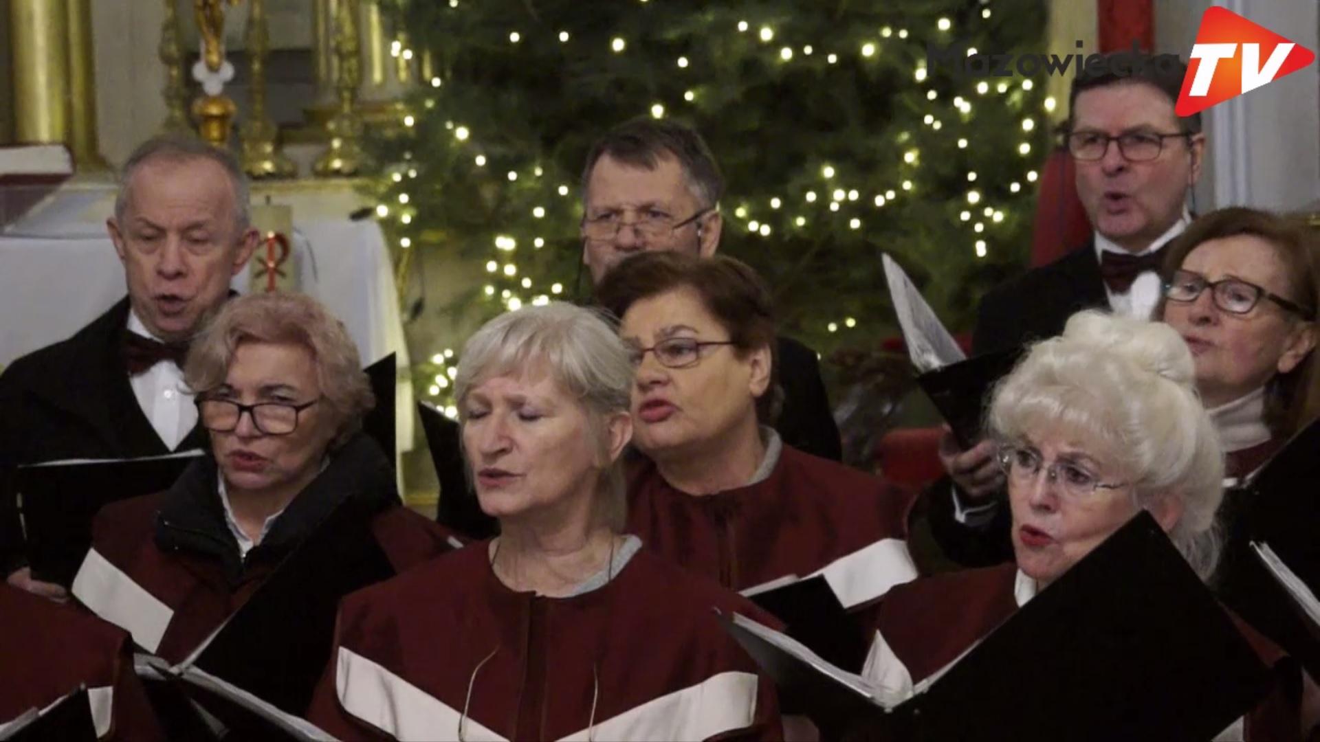 Koncert kolęd i pastorałek w wykonaniu chóru CANTATE DOMINO w Belsku Dużym