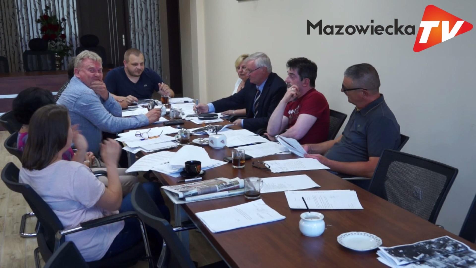 Posiedzenie Komisji Budżetowej Rady Miejskiej w Mogielnicy - 18 lipca 2018