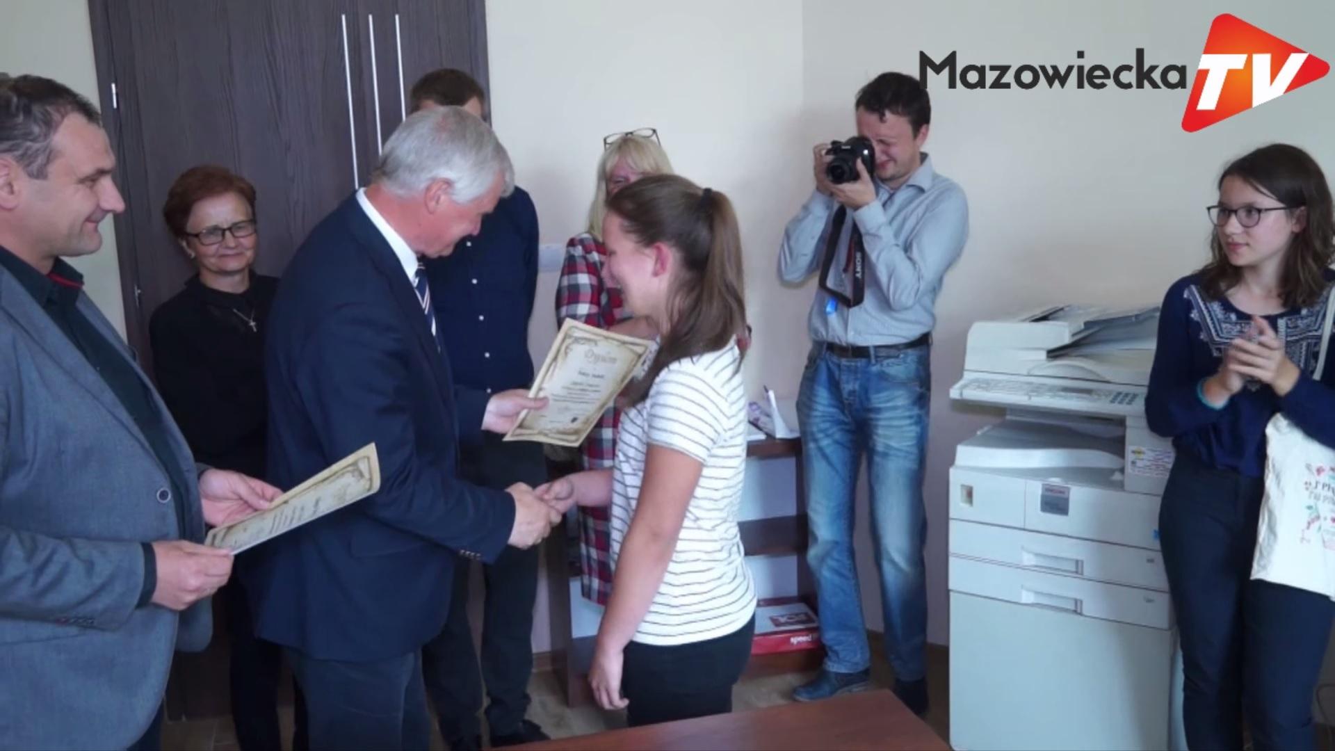 Wręczono nagrody w tegorocznym Konkursie Wiedzy o Gminie Mogielnica