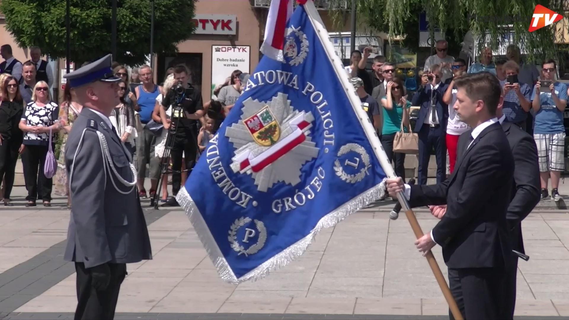 Obchody 100. rocznicy powstania Policji Państwowej w Grójcu