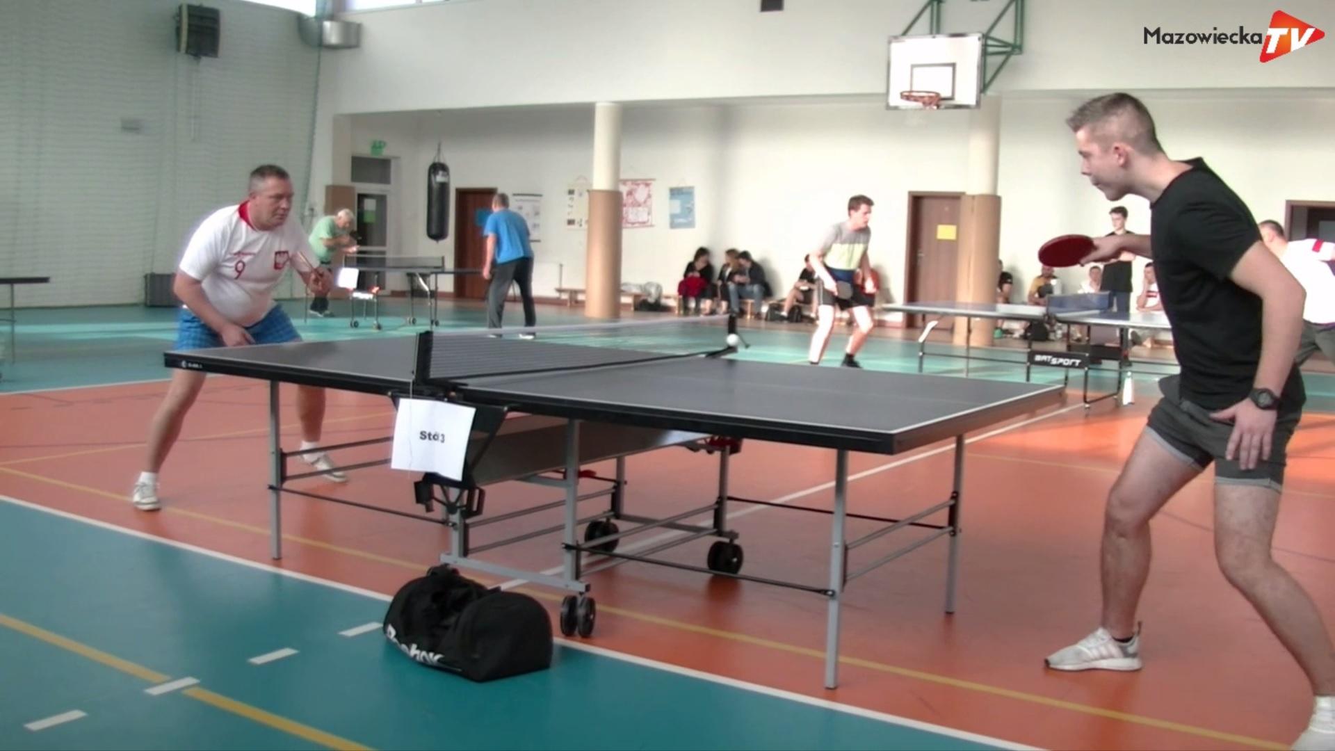 VII Turniej Tenisa Stołowego w Sułkowicach