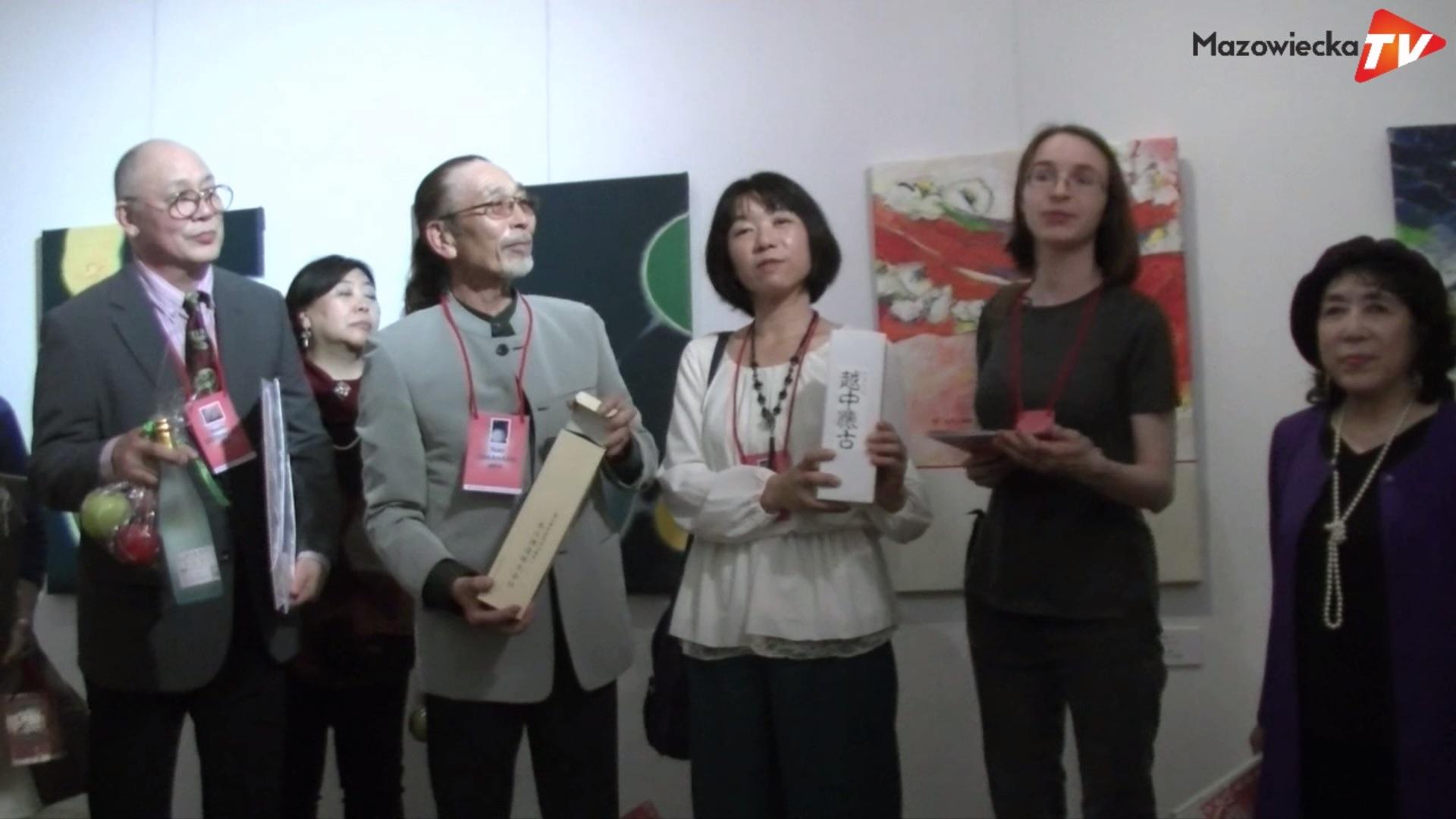 Otwarcie wystawy artystów z Japonii ART/X/TOYAMA w Grójeckim Ośrodku Kultury