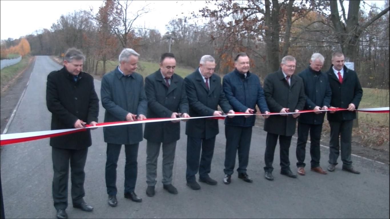 Otwarto przebudowaną drogę powiatową nr 1614W Trzylatków-Kozietuły