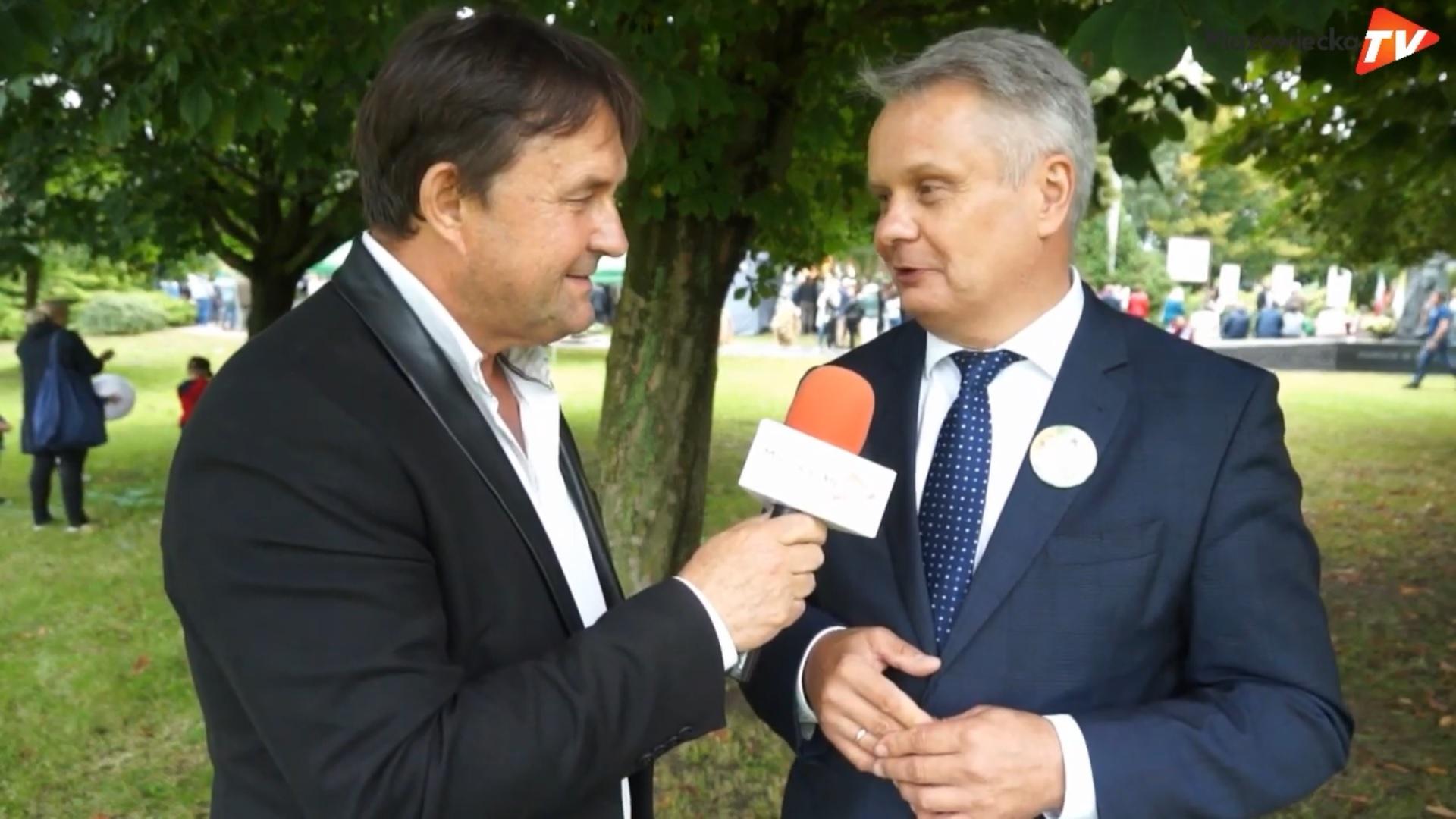 Wywiad z posłem Mirosławem Maliszewskim - Dożynki Powiatu Grójeckiego 2019
