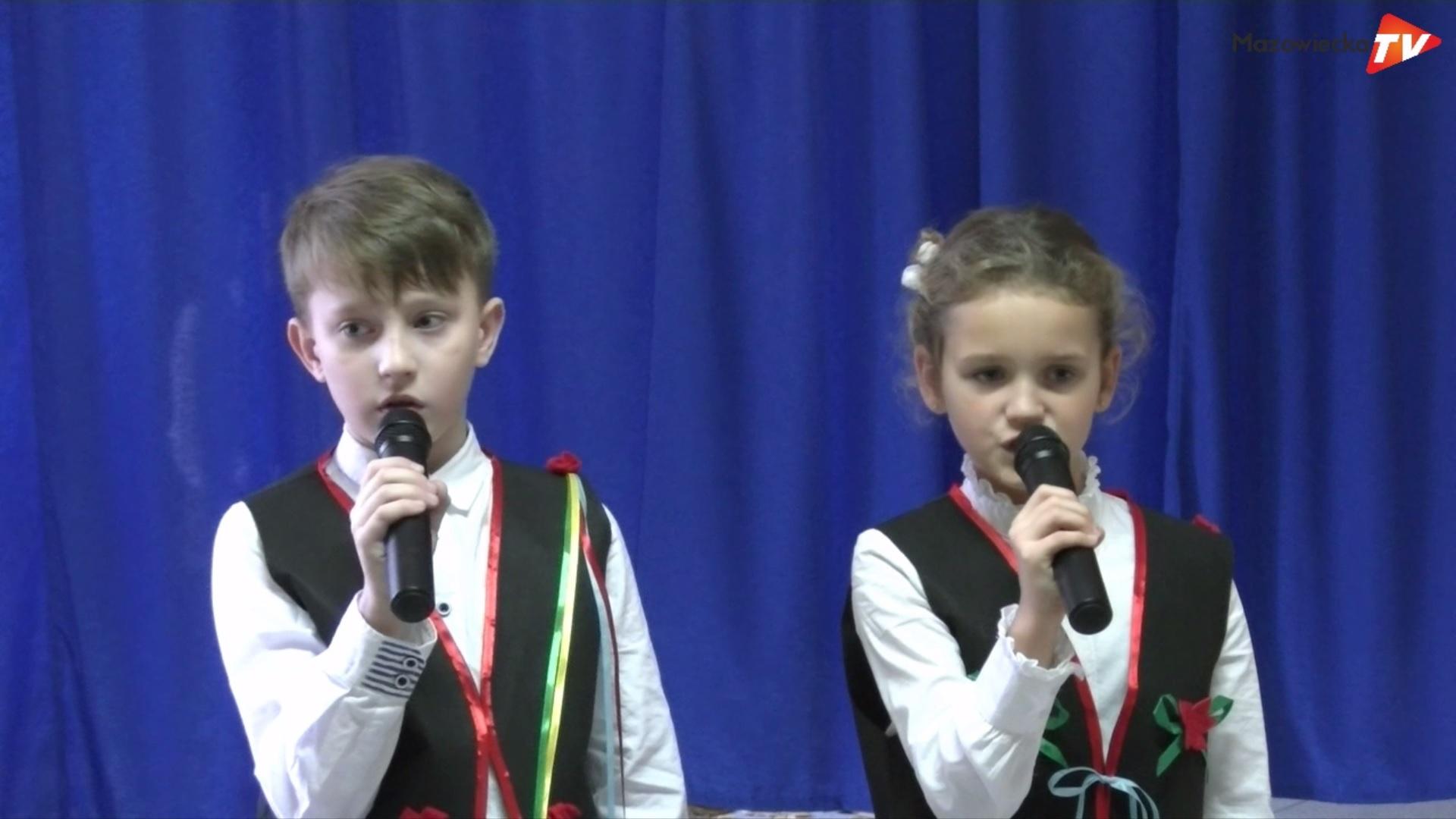 """Przedstawienie patriotyczne """"Dzieci z Wrześni"""" w PSP Gołosze"""