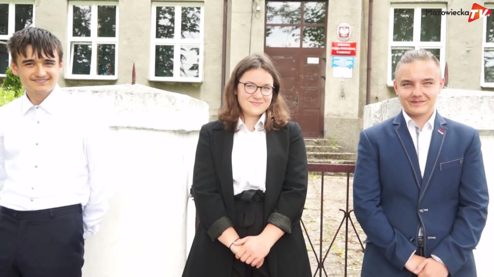 Ósmoklasiści PSP w Borowem liczą na dobre wyniki z egzaminów