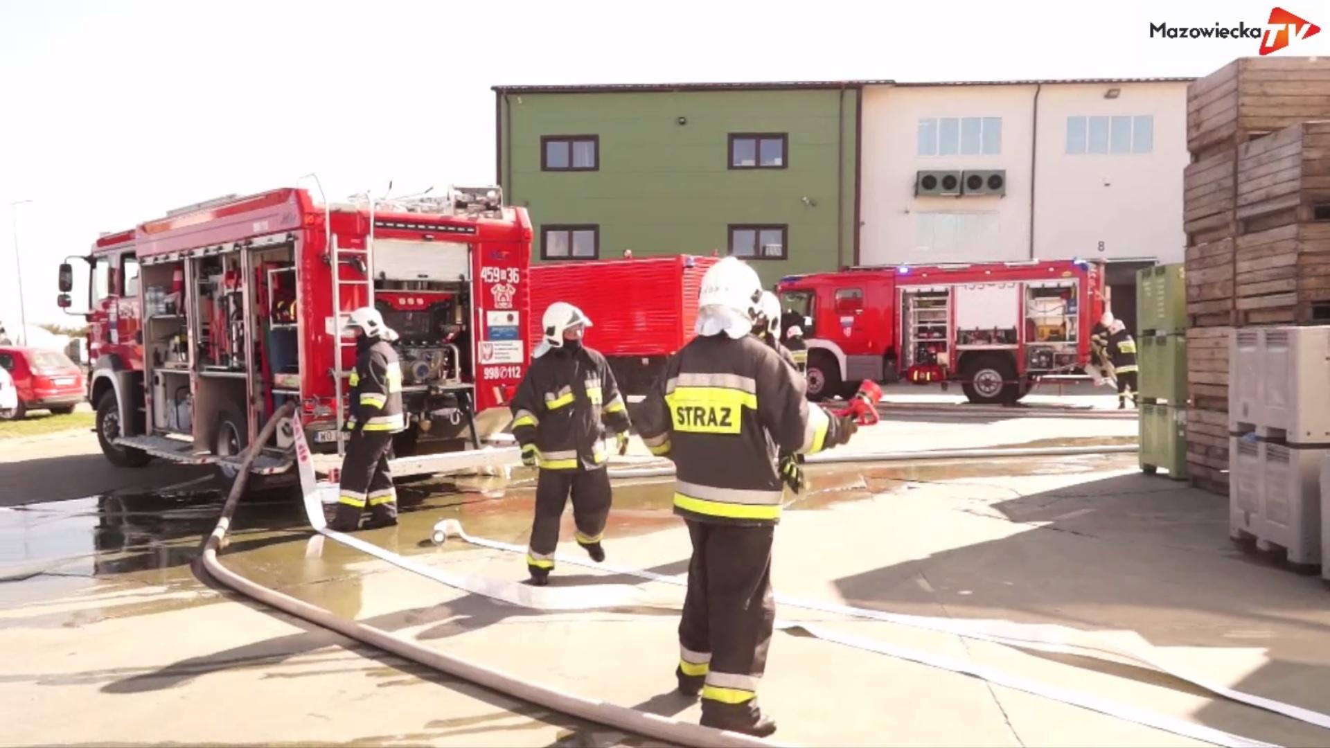 Manewry Ochotniczych Straży Pożarnych z gminy Błędów