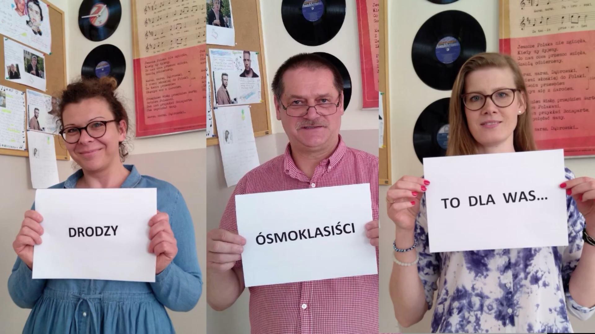 Możesz wszystko! - muzyczna niespodzianka dla absolwentów PSP nr 1 w Grójcu od zespołu EduBand
