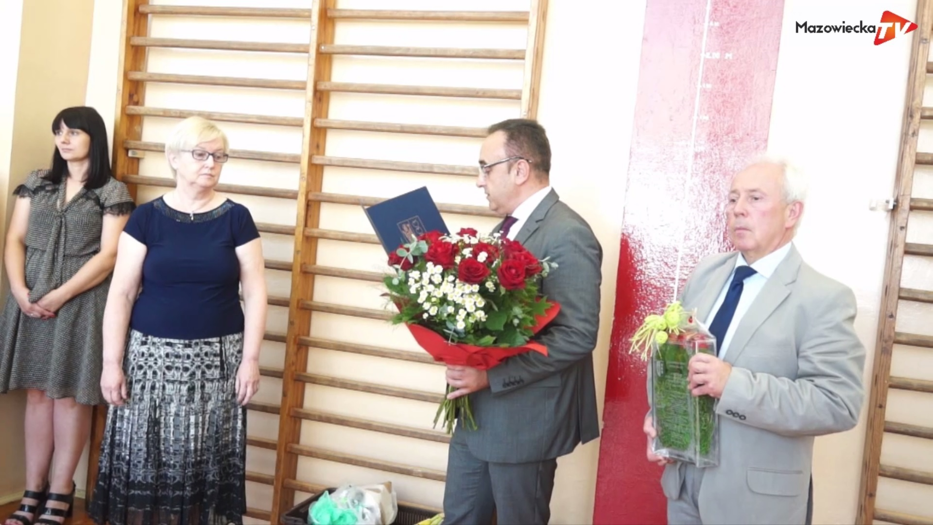 Uroczyste pożegnanie dyrektora PSP w Błędowie - pani Anny Pełki