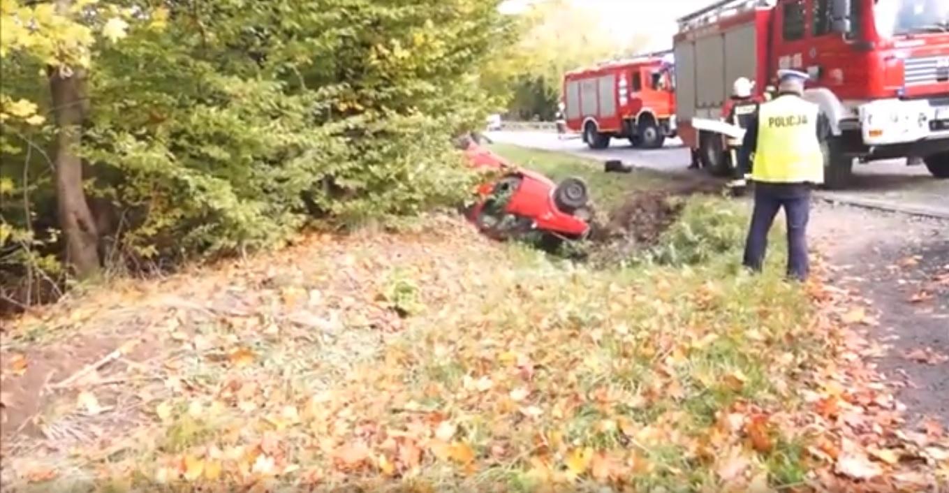 Wypadek w Starej Wsi. Grójecka Policja apeluje o rozwagę podczas jazdy