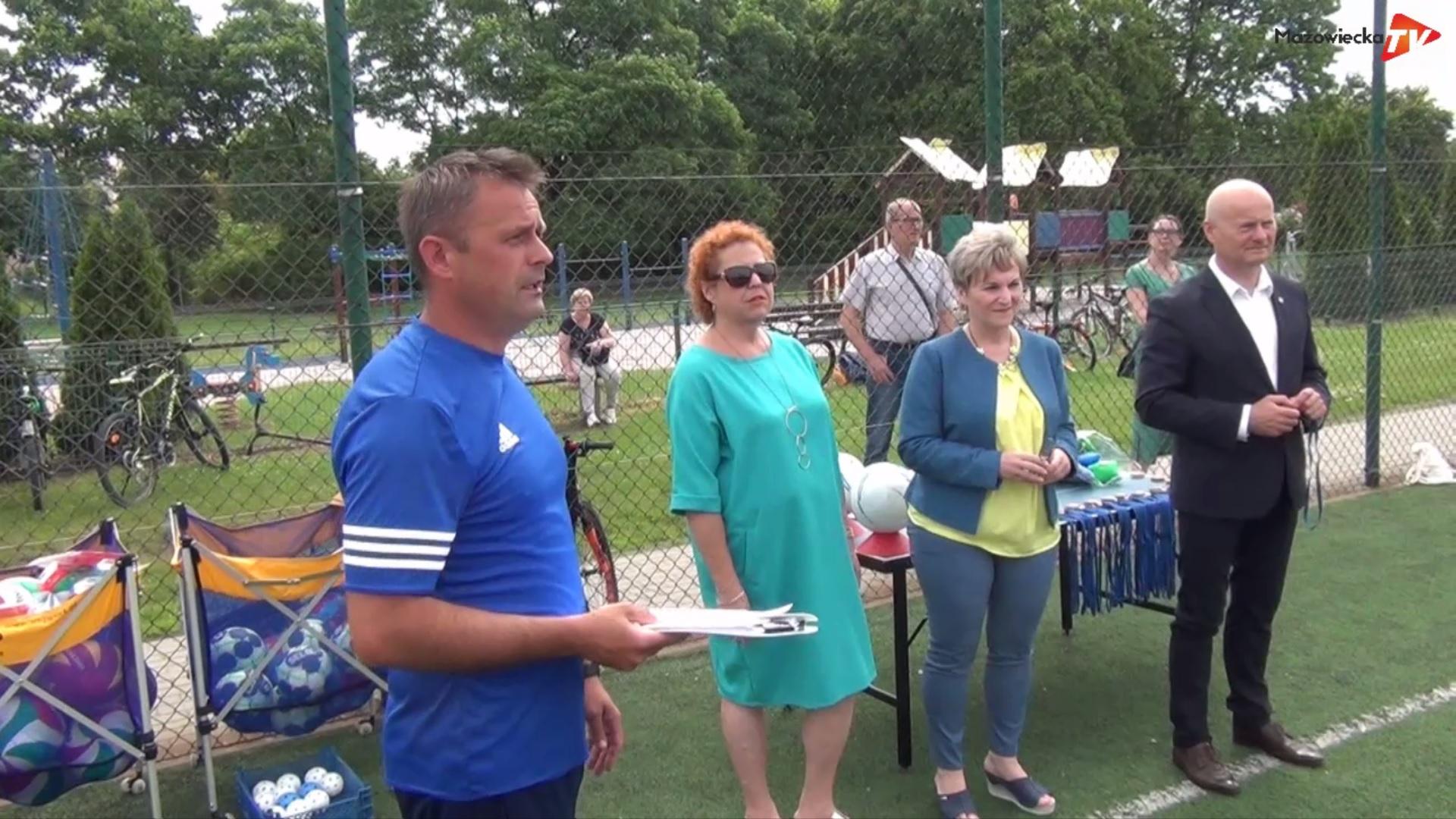 W PSP nr 1 w Grójcu zakończyły się zajęcia sportowe organizowane przez Gminną Komisję ds. Uzależnień