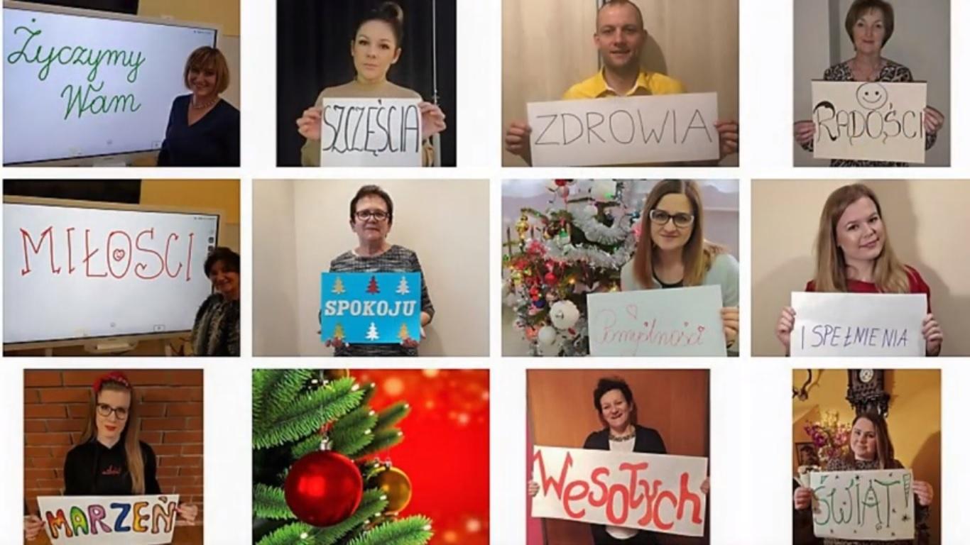 Znak pokoju - od nauczycieli dla uczniów PSP w Zbroszy Dużej
