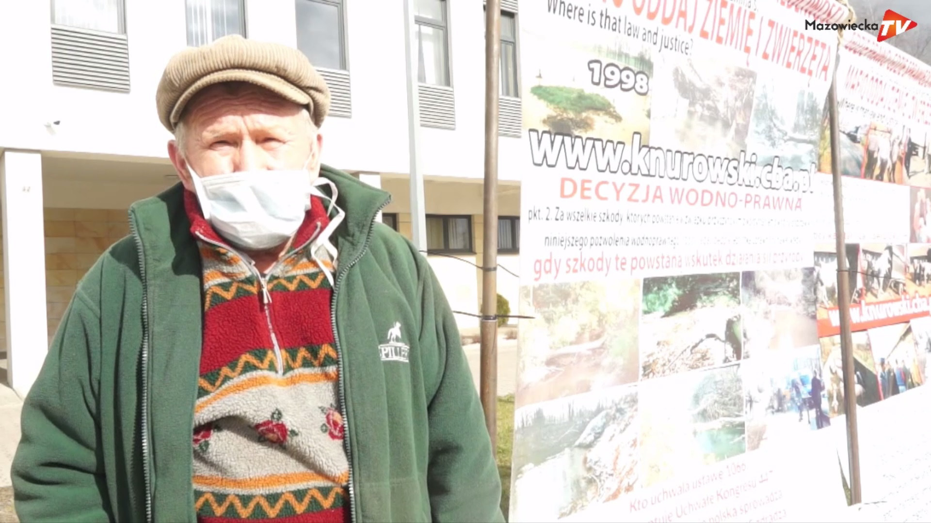 Apel Włodzimierza Knurowskiego do Ministra Sprawiedliwości przed grójeckim sądem