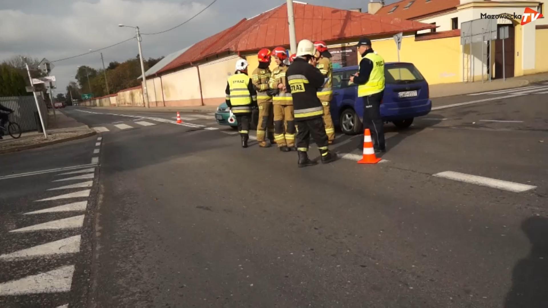 Wypadek w Nowym Mieście nad Pilicą