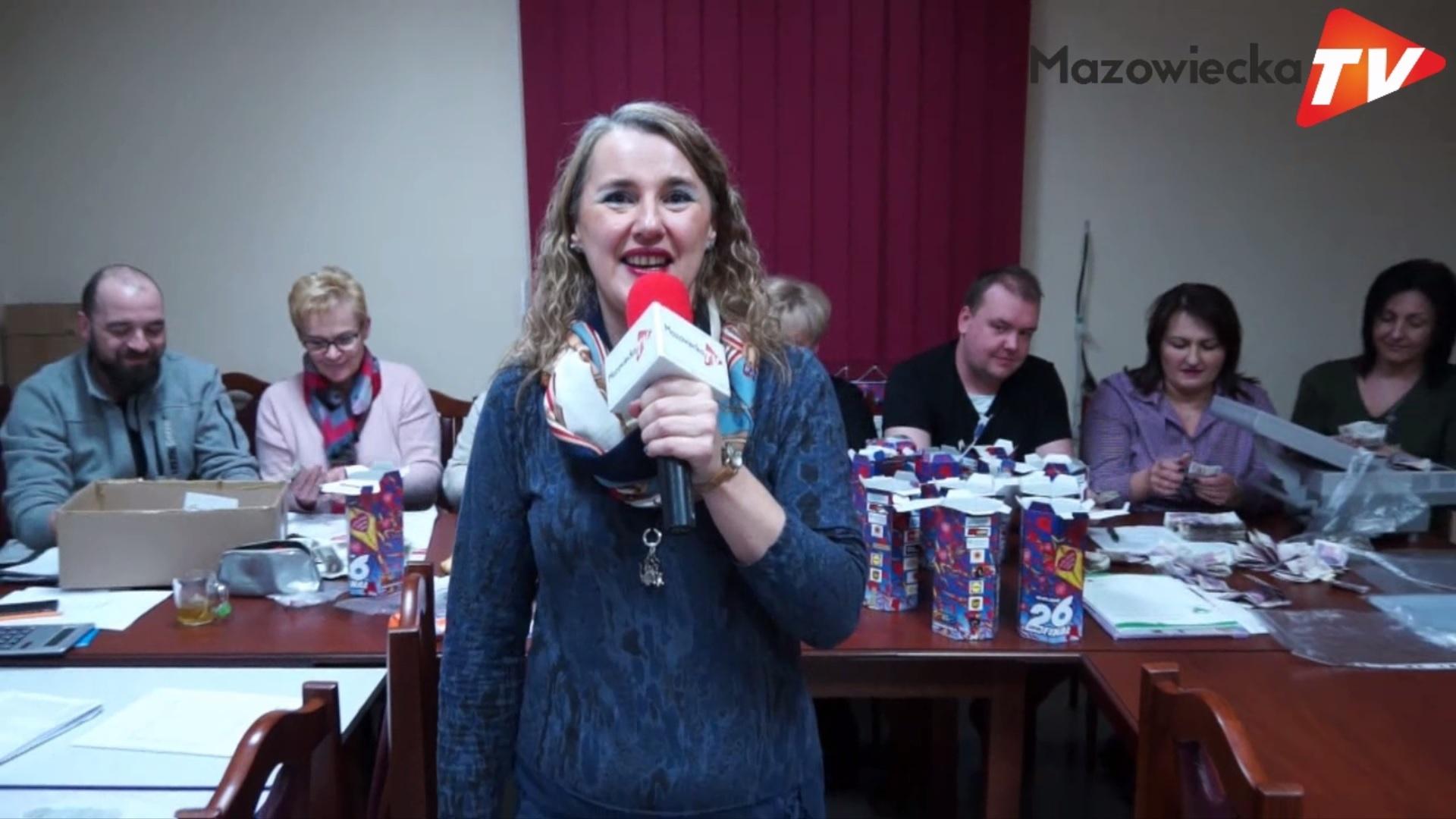 Sztab WOŚP w Mogielnicy po raz 26. spisał się na medal!