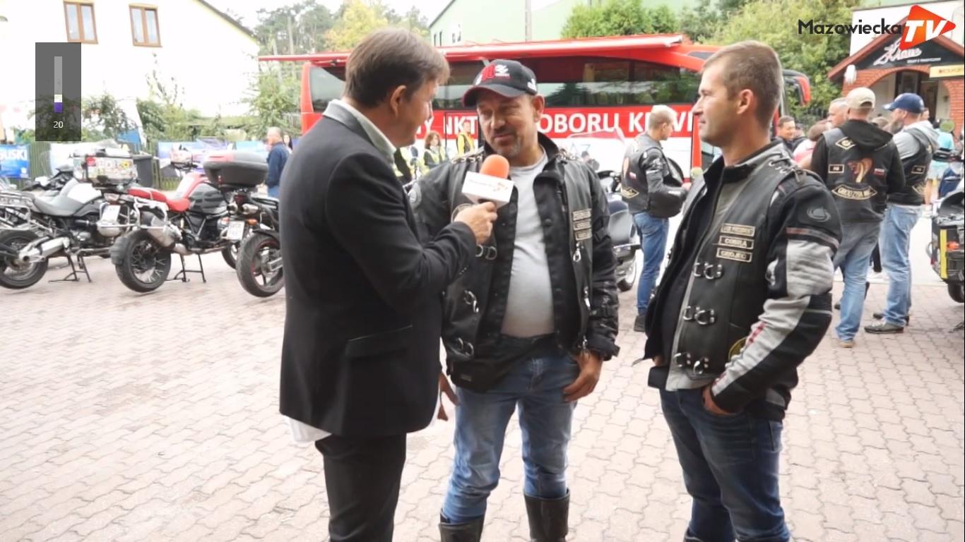 Grójecki Klub Motocyklowy COBRA FG na Dożynkach Powiatu Grójeckiego 2019 w Lewiczynie