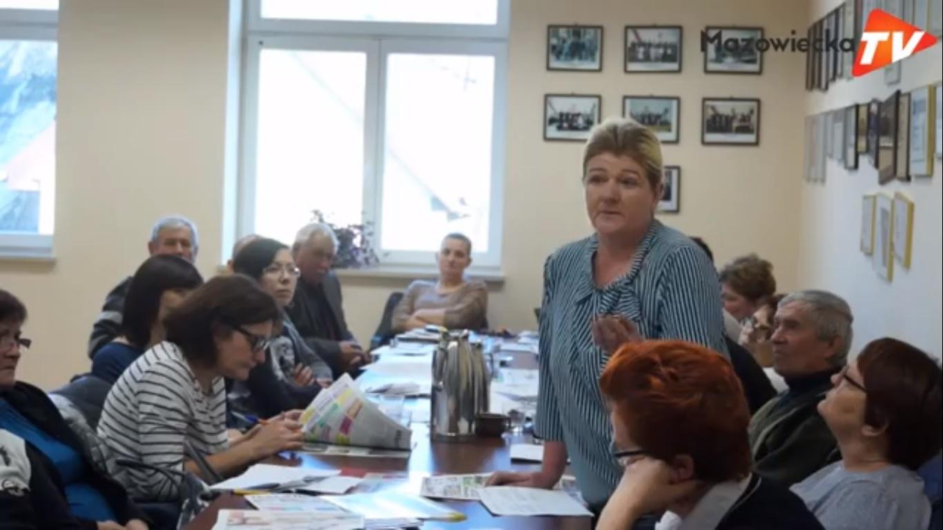 Sesja Rady Miejskiej w Mogielnicy - 5.12.2018 r.